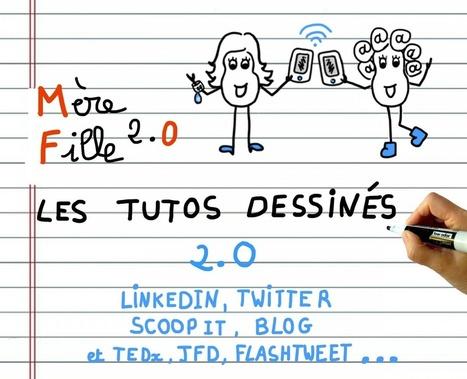 Les Tutos dessinés 2.0 #digital en 1 clic et 1 PDF #sketchnotes - Mère et fille 2.0 | La révolution numérique - Digital Revolution | Scoop.it